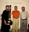 عبدالله شایان, رضا شیخ محمدی, سینا غفاری (سیتار به دست)